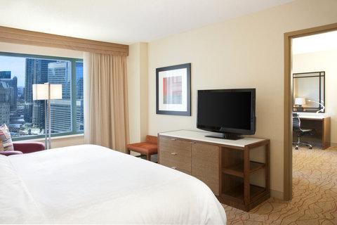Sheraton Grand Chicago Hotel - Suite Bedroom