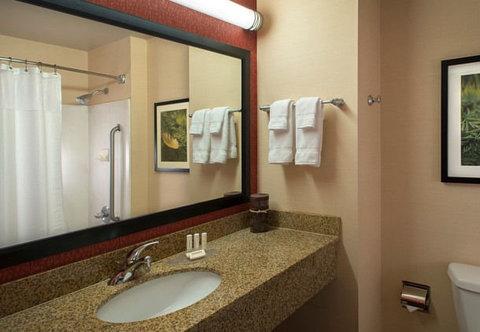 Marriott Courtyard Denver Downtown Hotel - Suite Bathroom