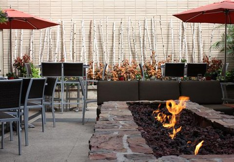J.W. Marriott Denver At Cherry Creek Hotel - Second Home   Outdoor Patio   Firepit