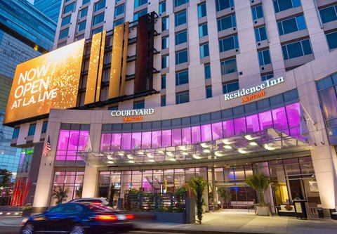 Residence Inn Los Angeles L.A. LIVE - Entrance