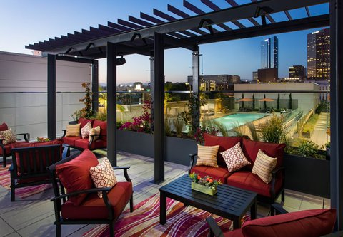 Residence Inn Los Angeles L.A. LIVE - Outdoor Terrace