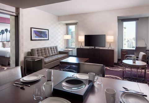 Residence Inn Los Angeles L.A. LIVE - Two-Bedroom Suite - Living Area