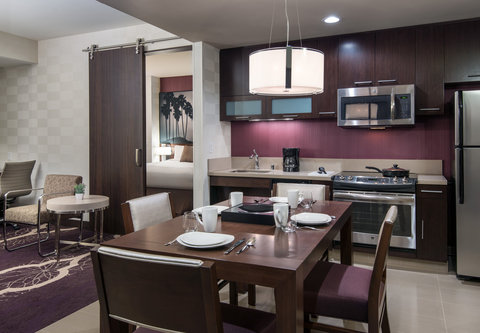 Residence Inn Los Angeles L.A. LIVE - Two-Bedroom Suite Kitchen