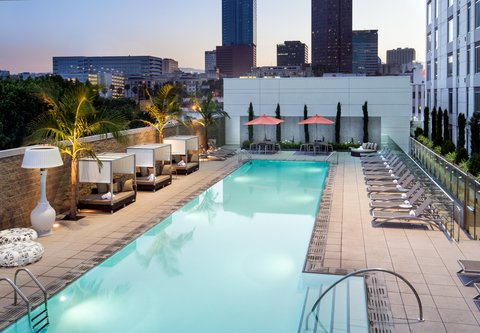 Residence Inn Los Angeles L.A. LIVE - Outdoor Pool