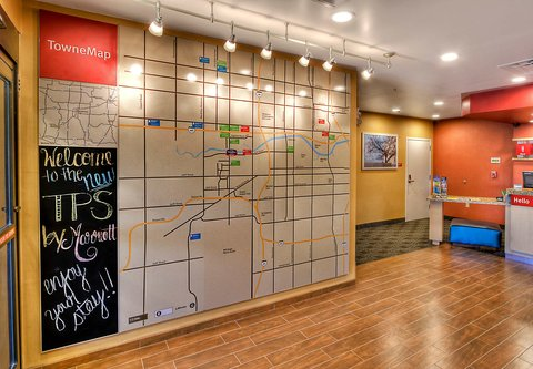TownePlace Suites Oklahoma City Airport - TowneMap