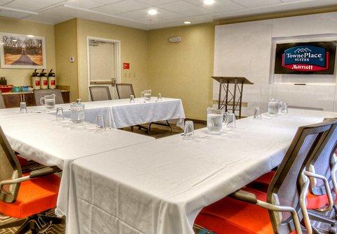 TownePlace Suites Oklahoma City Airport - Oklahoma Meeting Room   U-Shape Setup