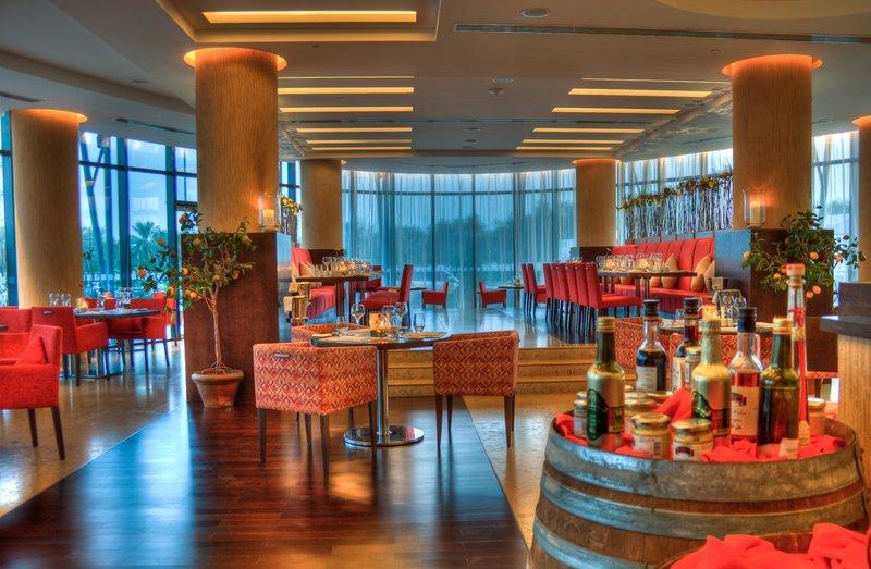 Holiday Inn Abu Dhabi Étkezés