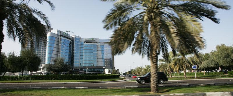 Holiday Inn Abu Dhabi Kilátás a szabadba