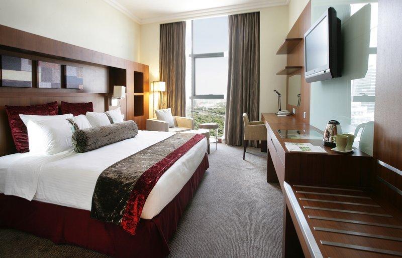 Holiday Inn Abu Dhabi Szobakilátás