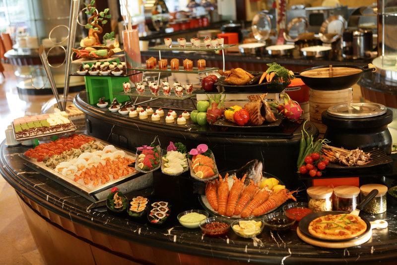 Crowne Plaza Hotel Fudan Shanghai Gastronomia