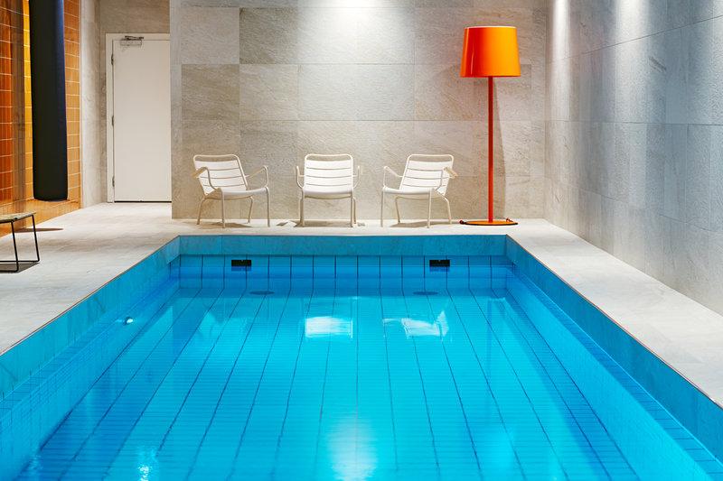 Scandic Hotel Backadal Gothenburg Kilátás a medencére