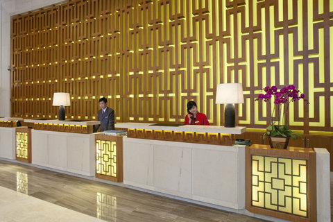 Crowne Plaza CHONGQING RIVERSIDE - Front Desk