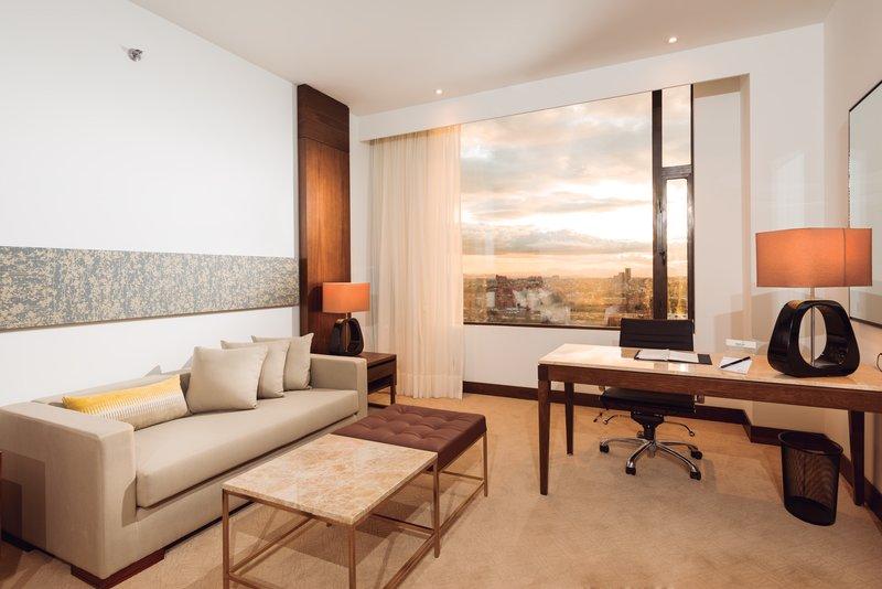 Radisson Royal Bogota Hotel Zimmeransicht