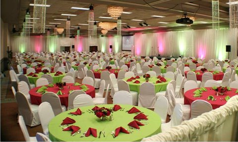 DoubleTree by Hilton Fayetteville - Green Pink Ball Grand Ballroom
