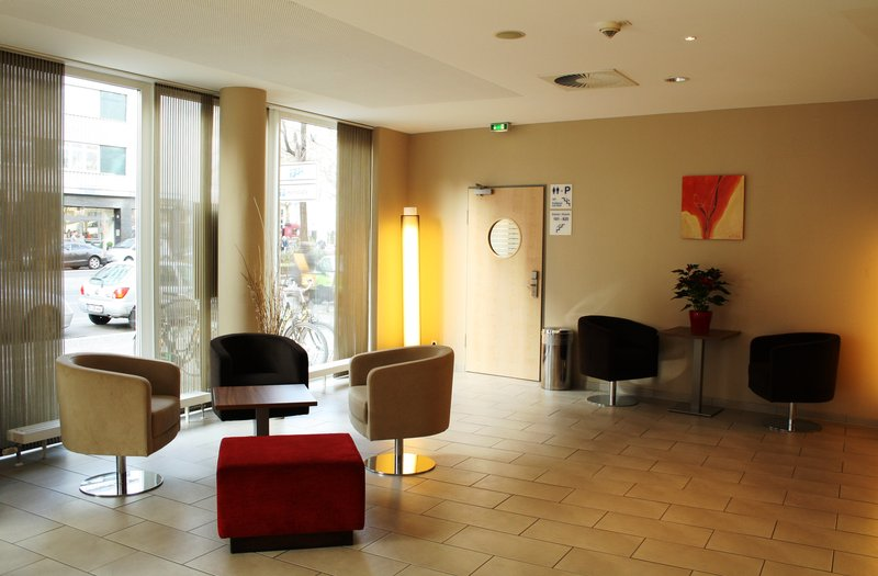 Hotel Holiday Inn Express Berlin City Centre-West Saguão do hotel