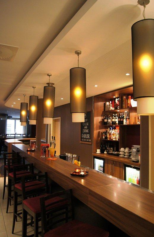 Hotel Holiday Inn Express Berlin City Centre-West Bar do saguão