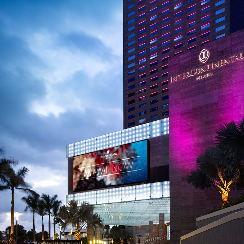 InterContinental Miami Buitenaanzicht