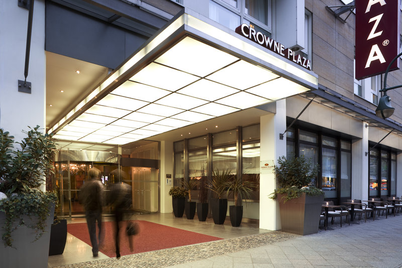 Crowne Plaza Berlin City Centre Pohled zvenku