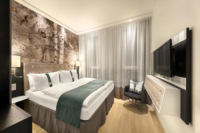 Hotel Holiday Inn Berlin - Centre Alexanderplatz Quarto com cama tamanho King