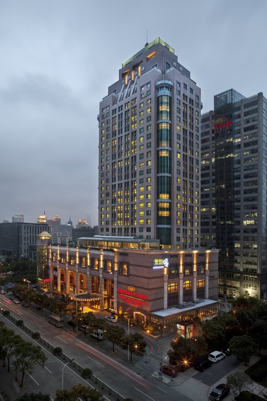 Crowne Plaza Hotel Century Park Shanghai Außenansicht