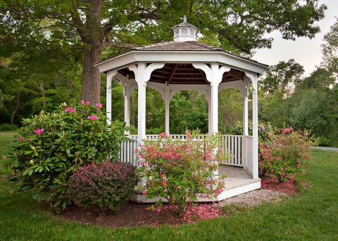 Holiday Inn Cape Cod Falmouth Hotel - Celebrate your love with a beautiful gazebo garden ceremony