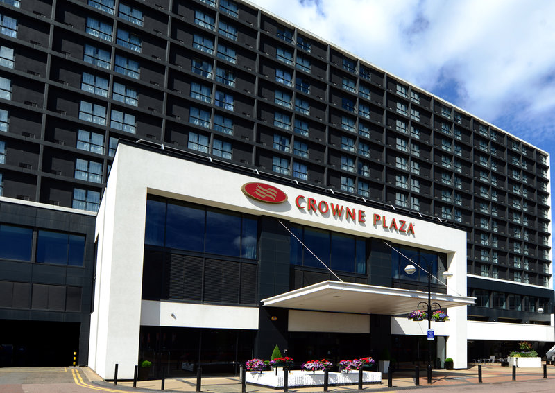 Crowne Plaza Hotel Birmingham City Centre Fasad