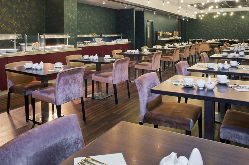 Crowne Plaza Hotel Birmingham City Centre 餐饮设施