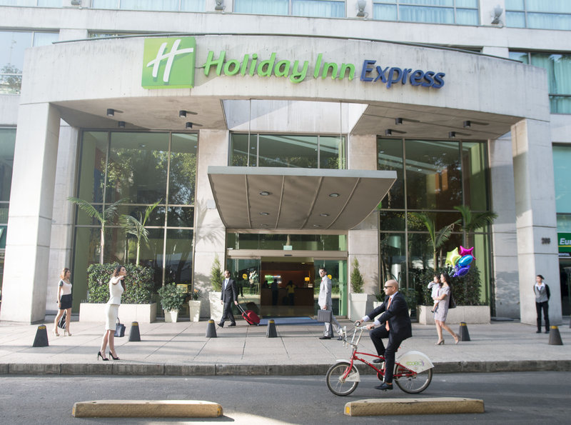 Holiday Inn Express Mexico-Paseo de la Reforma 外景