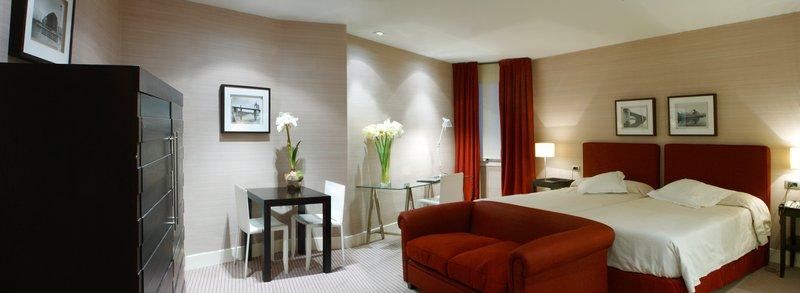Hotel Ercilla Vista de la habitación