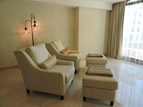 منتجع وسبا جزيرة المرجان - Lamar Spa  Relaxation Room