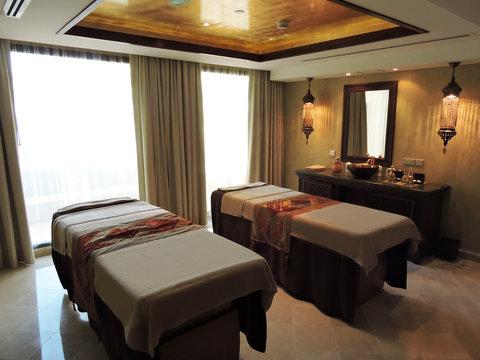 منتجع وسبا جزيرة المرجان - Lamar Spa  Couple Massage Room