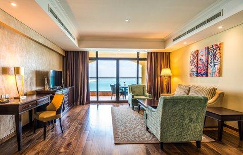 منتجع وسبا جزيرة المرجان - Suite Living Room