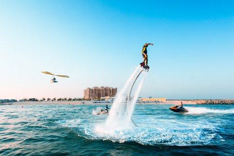 منتجع وسبا جزيرة المرجان - Water Sports Activity
