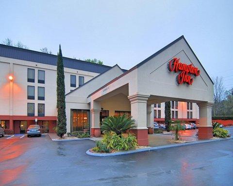 Hampton Inn Gainesville FL - Exterior in the Morning