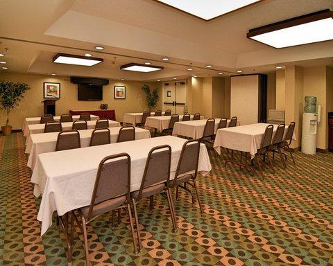 Hampton Inn Gainesville FL - Meeting  Classroom Setup