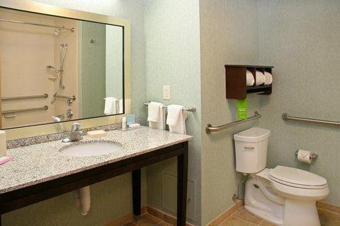 Hampton Inn Bridgeville - Accessible Bath