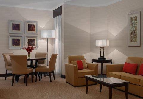 فندق ماريوت الرياض - Junior Suite Living Room