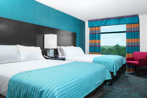 Holiday Inn Express MOLINE - QUAD CITIES - Our double queen rooms are quiet and contemporary