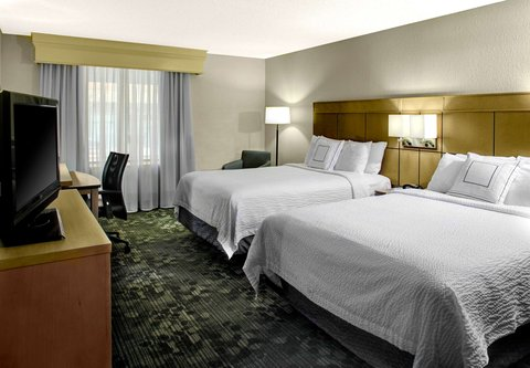 Courtyard By Marriott Columbus Downtown Hotel - Double Double Guest Room
