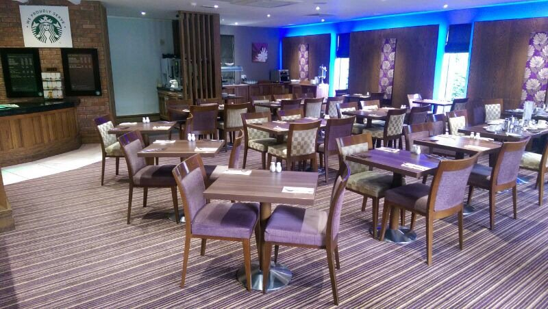 Holiday Inn Nottingham-Castle Marina Ресторанно-буфетное обслуживание