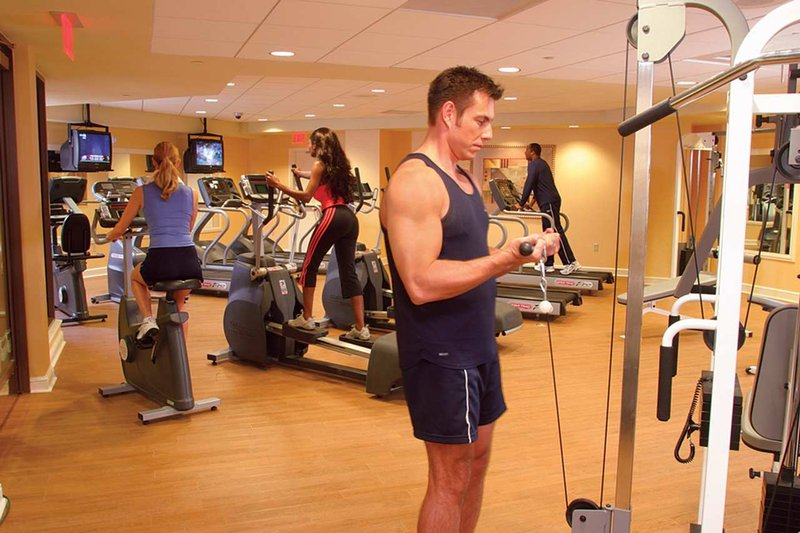 Hilton Grand Vacations Club on the Las Vegas Strip Fitnessclub