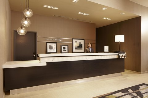 Hampton Inn Brooklyn Downtown NY - Front Desk