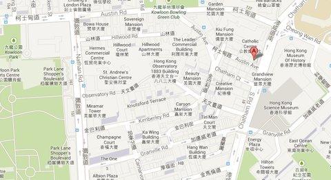 香港極棧公寓 - MAP