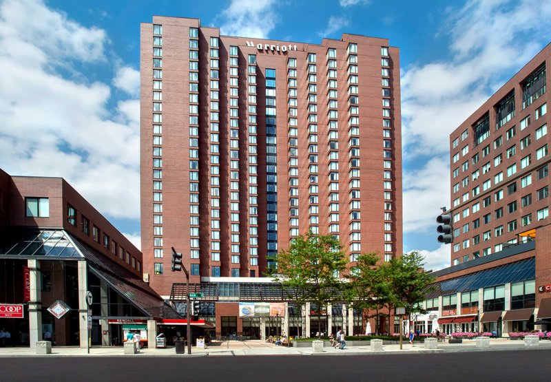 Marriott Boston Cambridge Fasad
