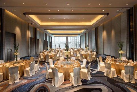 Hilton Shenzhen Shekou - China Merchants Hall Banquet setup