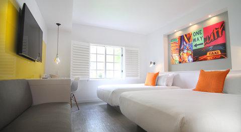 Vintro South Beach - Deluxe Garden View Double Beds