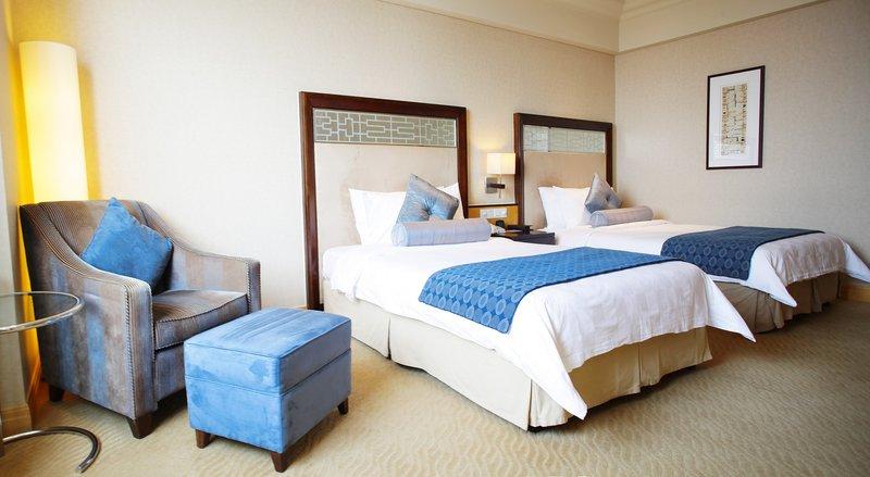 Crowne Plaza Hotel Fudan Shanghai Vista do quarto