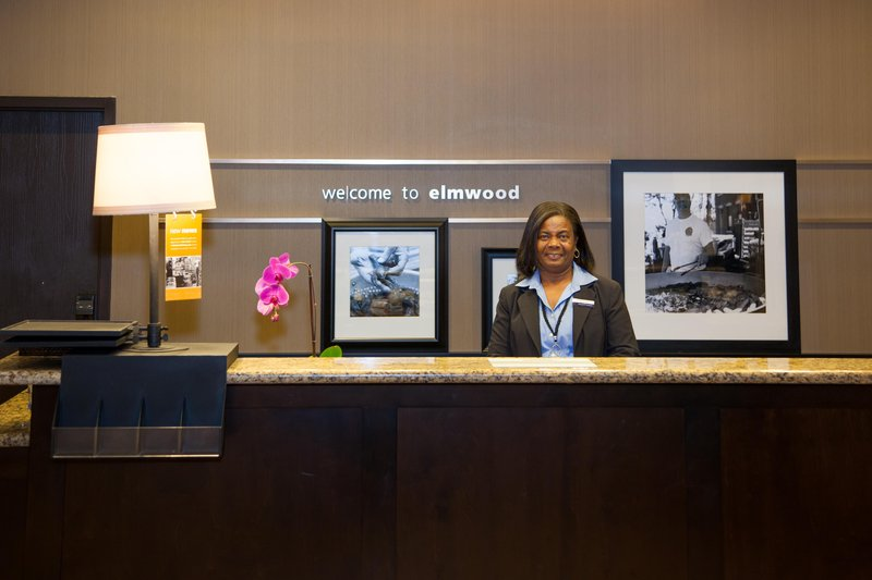 Hampton Inn & Suites New Orleans/Elmwood ロビー