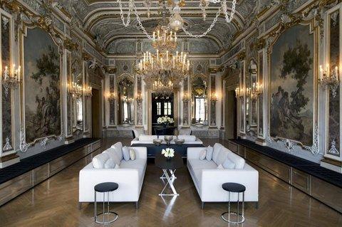 Aman Canal Grande Venice - Piano Nobile Lounge