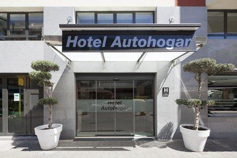 Hotel Auto Hogar - Main Entrance